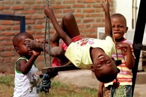 Kinder aus Burundi