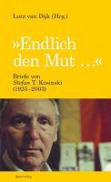 """Buchcover """"Endlich den Mut"""""""