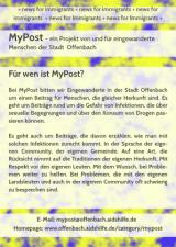 MyPost_Flyer, Deckblatt