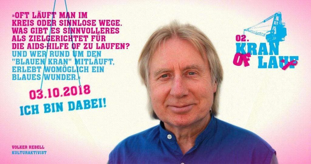 Volker Rebell, Kulturaktivist