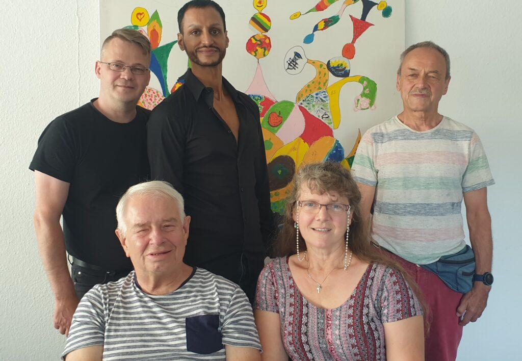 Der Vorstand der Aids-Hilfe ab Sommer 2021